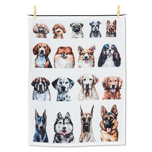 TEA TOWEL- DOG PORTRAITS