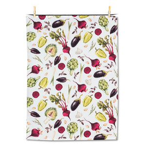 TEA TOWEL-ALL OVER VEGGIES