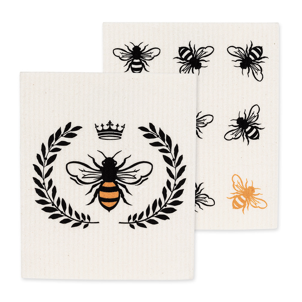 AMAZING SWEDISH DISHCLOTH-QUEEN BEE SET