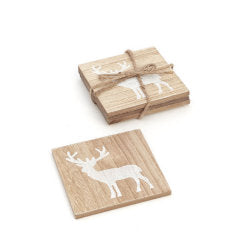 coaster set deer