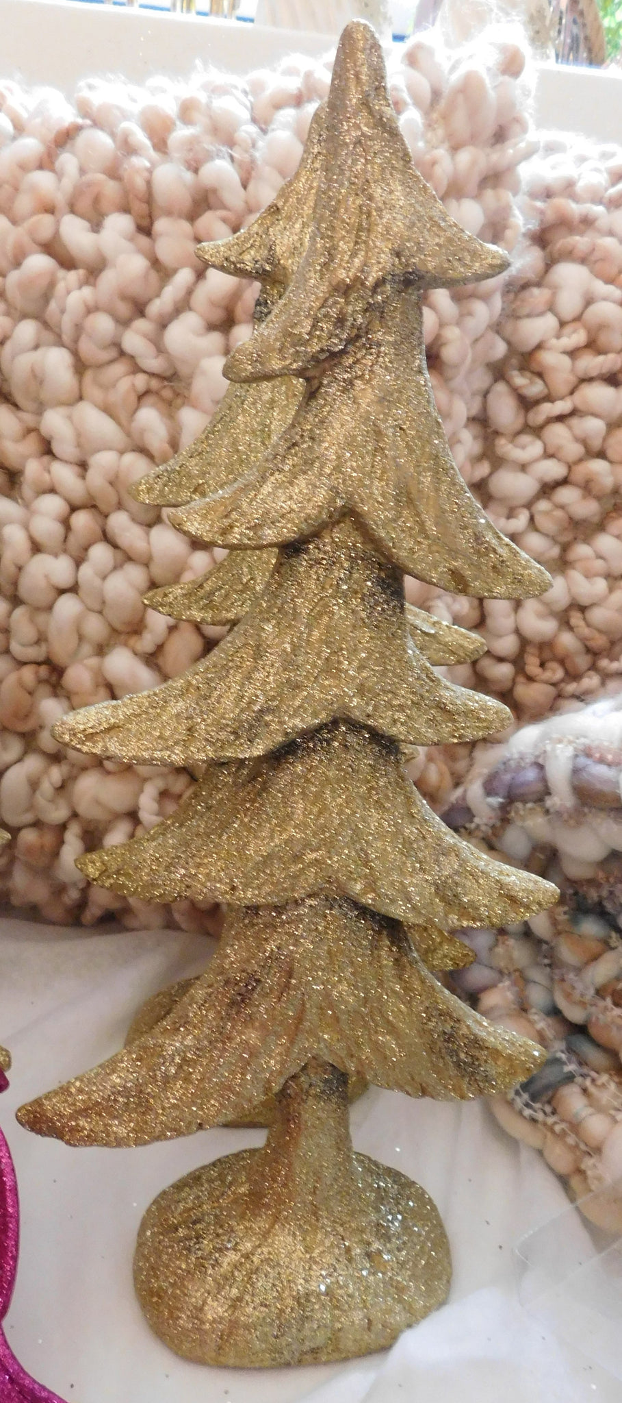 GOLD TREE DECOR