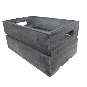 rustic storage crate