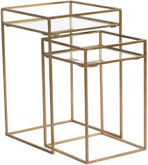 FRAMED NESTING TABLES