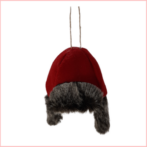 CAMPING HAT ORNAMENT