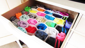 3 STEPS TO ORGANIZE YOUR SOCKS AND UNDIES