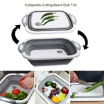 Multi-purpose Foldable Silicone Cutting Board