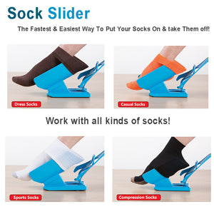 Sock Slider/ Sock Aid Tool - Putting socks without bending | HomesFan