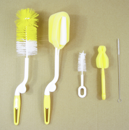 5-piece Bottle Cleaning Brush Set