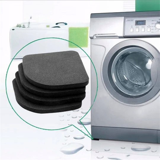 4-Pieces Non-Slip Anti-Vibration Pads