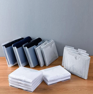 Dust-Proof Folding Board Clothes Organizer