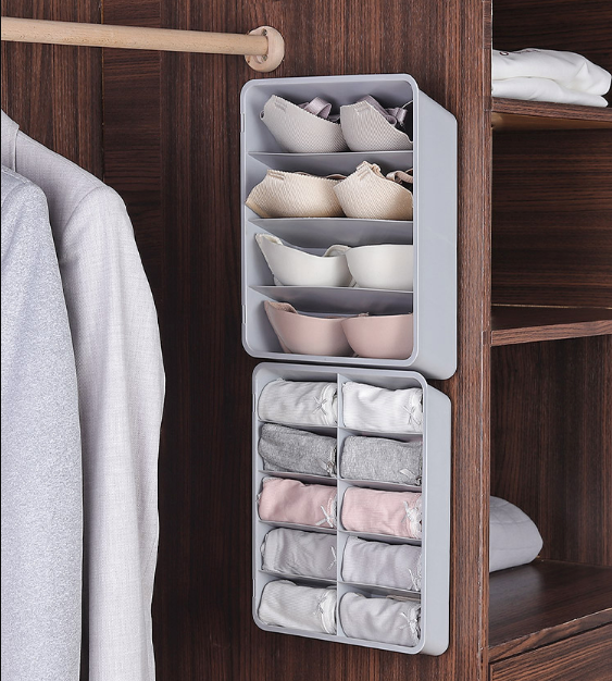 Space Saving Underwear Organizer Box
