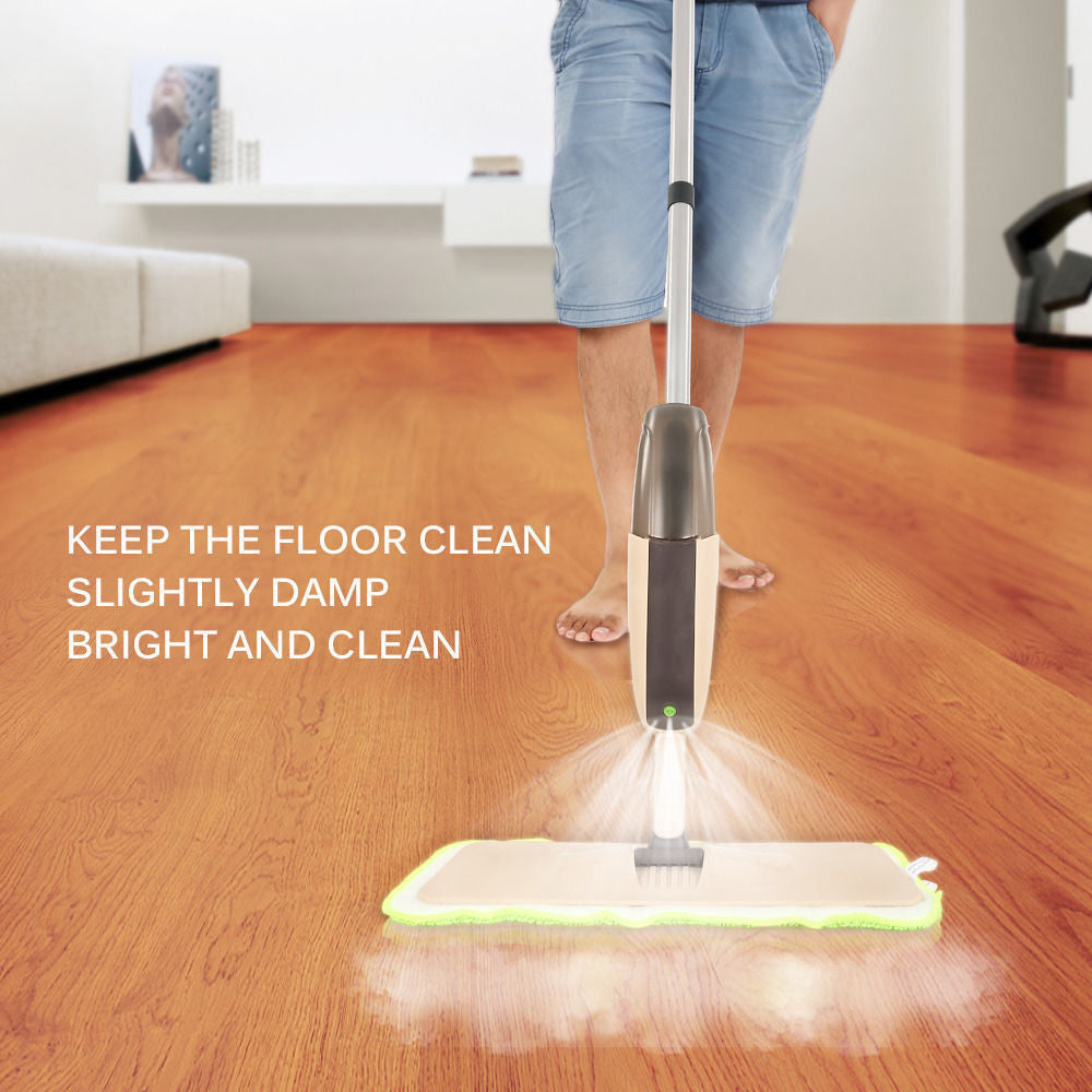 Super Mop with Auto Spray ( No Electricity or Batteries Required)