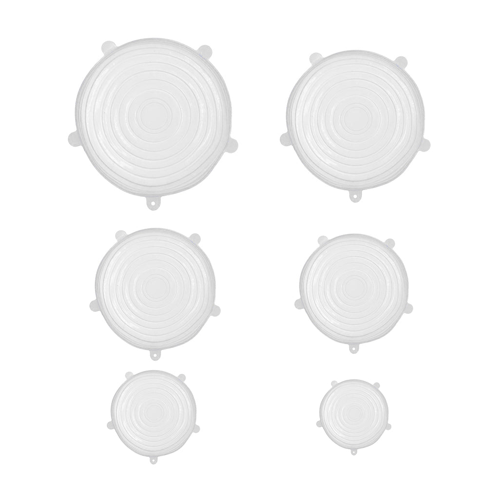 Silicone Stretch Food Lid Set of 6