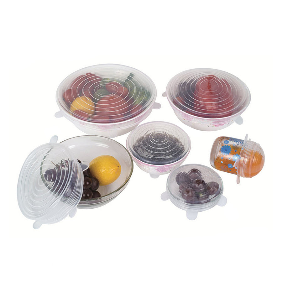 Silicone Stretch Lid Set For Food
