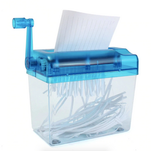 Shredsy™ Portable Hand Paper Shredder