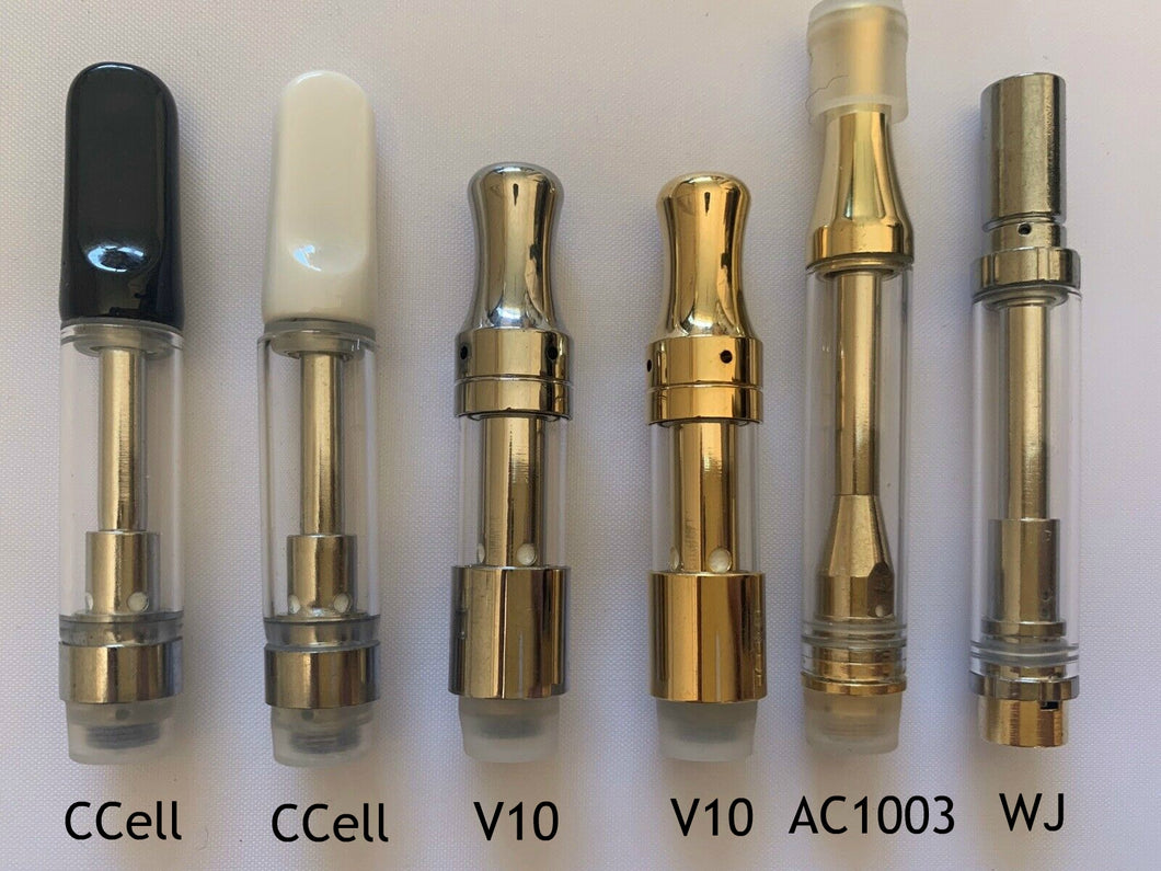 1ml/0.5ml Carts for E Cig Pen ~ Pick your type ~