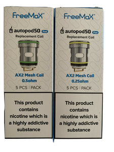Freemax Autopod50 Replacement Coils / Mesh 0.25 ~ 100% Genuine
