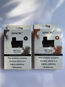 SMOK FETCH ~Mini RPM/ NORD Pod Cart ~ 2 pack ~ 100% Genuine ~ 2ML ~ smok