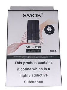 SMOK NFIX Replacement Pods & Coils ~ 2ML ~ DC / MTL / MESH 100% Genuine