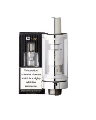 Aspire K3 Clearomizer Atomizer Tank ~ 1.8 ohm Coil ~ TPD ~ 100% Genuine