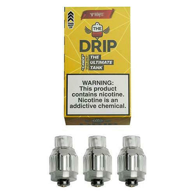 The Drip Tank Pods ~ 3 Pack ~ PODS ONLY ~ FREE POSTAGE