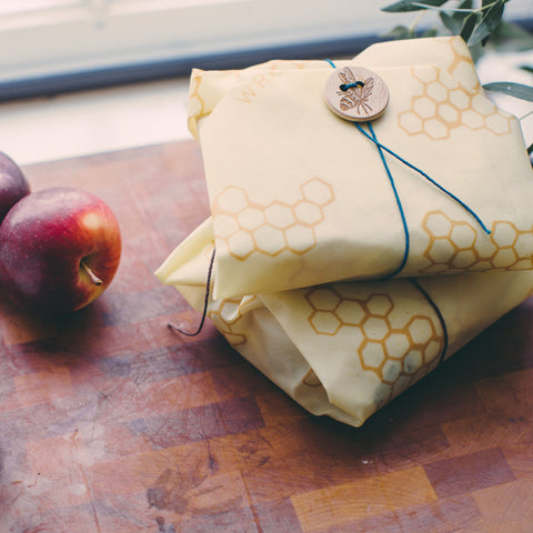 Bee's Wrap - Sandwich Wrap - the original Bee's Wrap, easy, reusable, all-natural way to store food.
