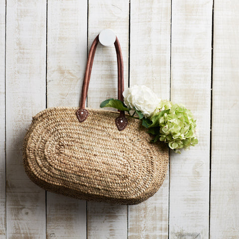 French Market Basket Oval - The Fez by Le Panier
