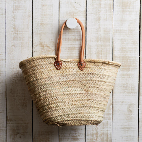 French Market Basket with Long Handle - 5 Colours by Le Panier