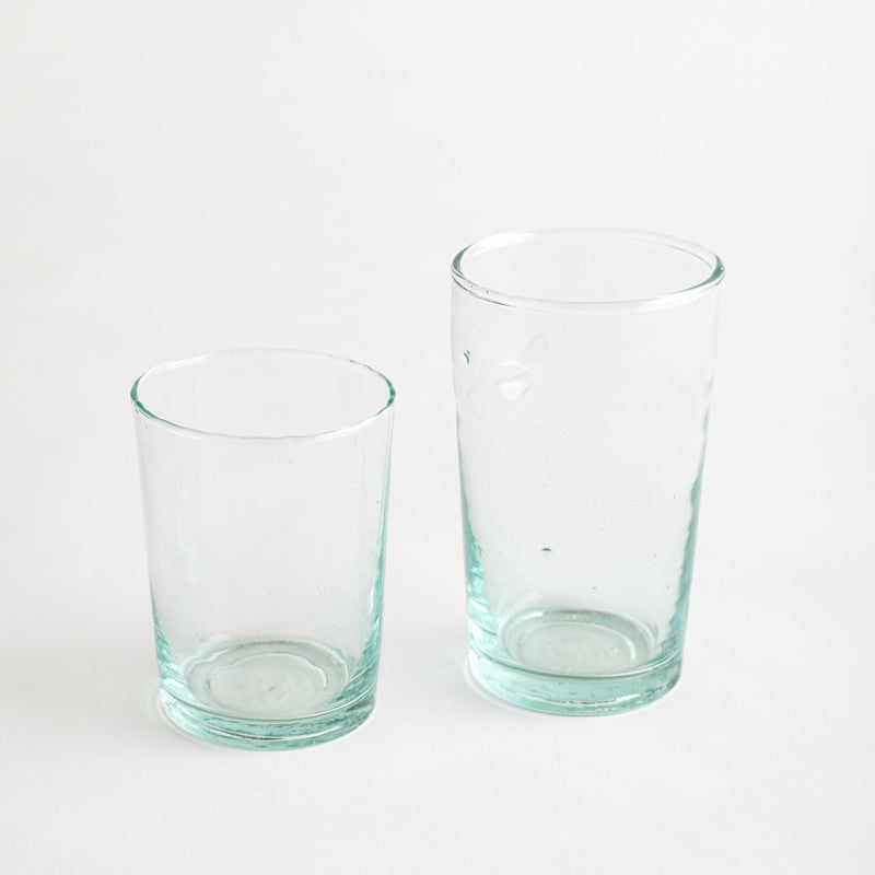 Beldi Straight glasses 350ml & 250ml