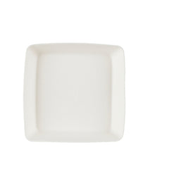 Single use bagasse square plate deep