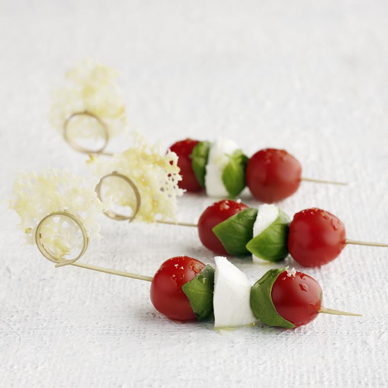 Side Twist Bamboo Skewer 12cm