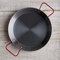 Spanish Paella Pans -polished steel - 10 sizes from $14.75
