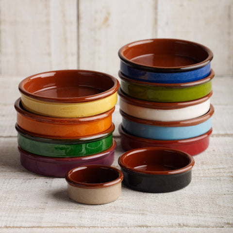 Spanish Coloured Tapas Dish - 3 sizes - 10 colours from $7.85