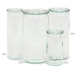 Cylinder Jar - 4 sizes ( 1 NEW)