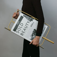 Viennese Newspaper Holder - 2 sizes, 2 colours    30% OFF