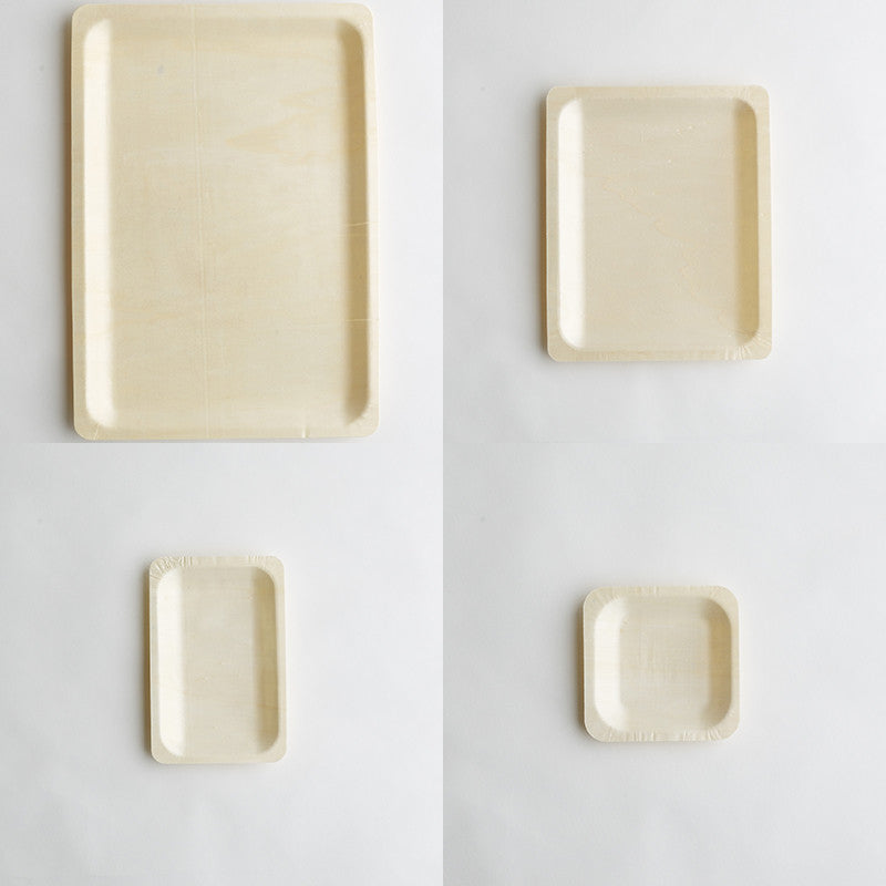 Disposable Plates - wooden 4 sizes & Disposable Plates - wooden 4 sizes | The Eco Table
