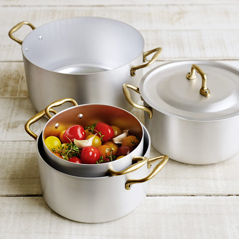 Ottinetti Saucepan two handles with Lid - 4 sizes
