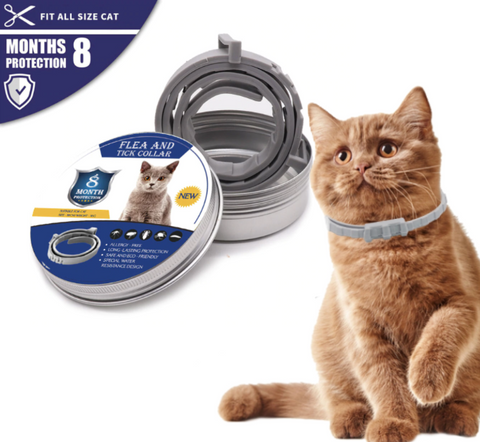 CAT FLEA AND TICK COLLAR | 8 MONTHS PROTECTION