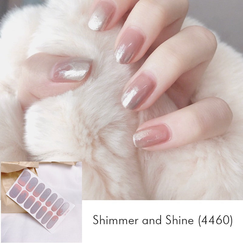 Shimmer and Shine Nail Wrap