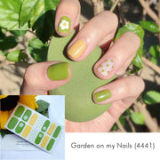 Garden on my Nails Nail Wrap