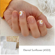 Eternal Sunflower Nail Wrap