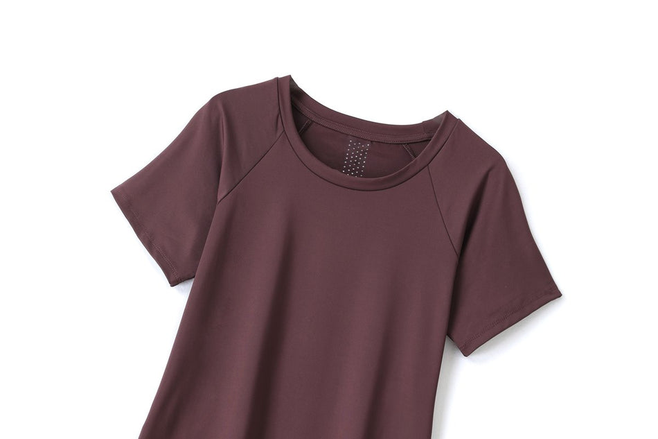 Hanne Plus Size Dri Fit T Shirt Top