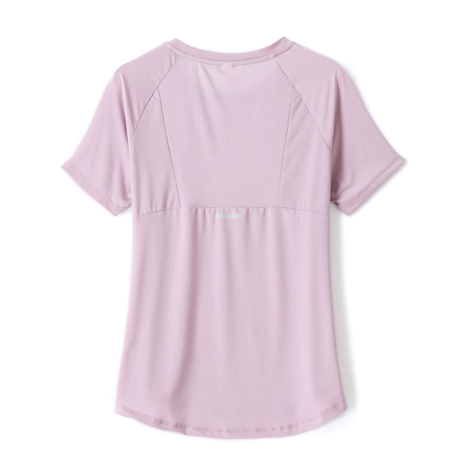 Helia Plus Size Mesh Dri Fit T Shirt Top