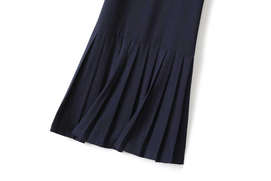 Allison Plus Size Pleated Midi Dress