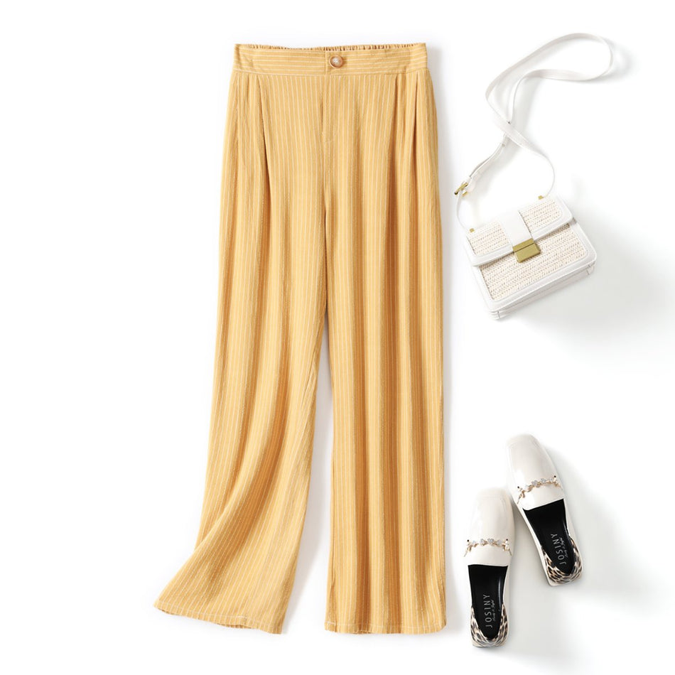 Adrea Plus Size Culottes Wide Leg Pants