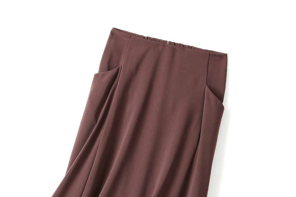 Zoelle Plus Size Midi Skirt