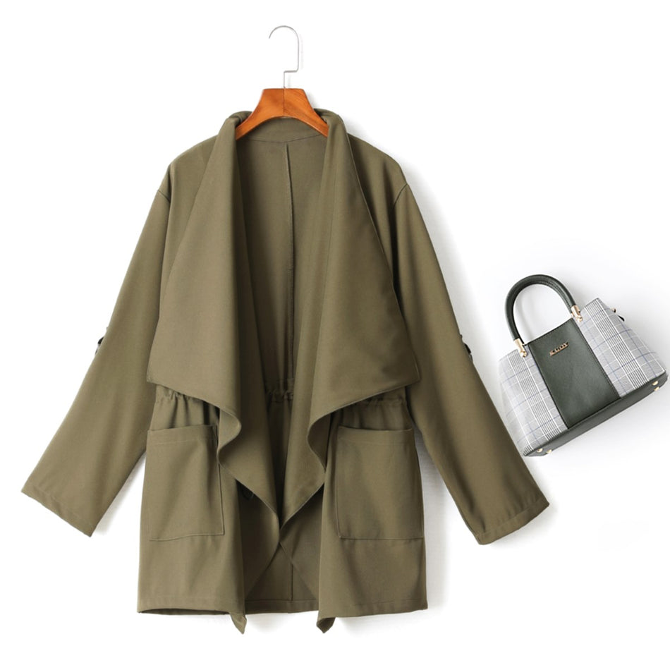 plus size trench coat