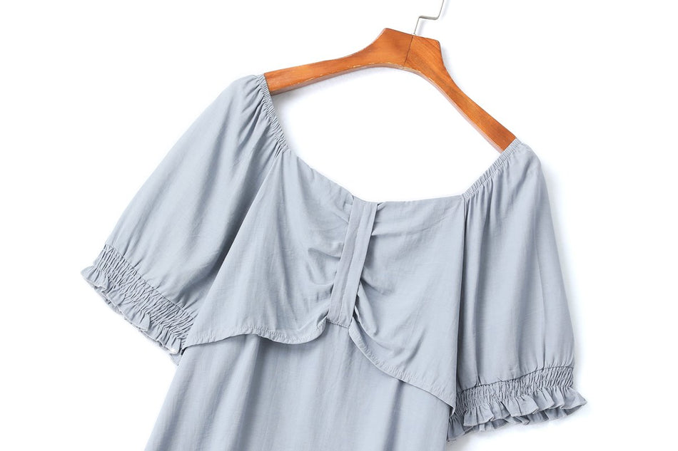 Melissa Plus Size Ribbon Top