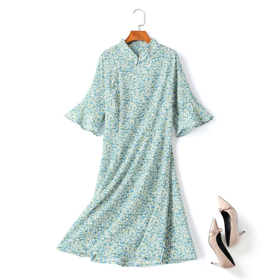 plus size cheongsam dress