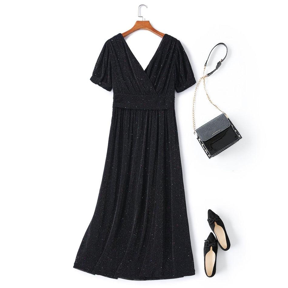 Zara Plus Size Evening Maxi Dress